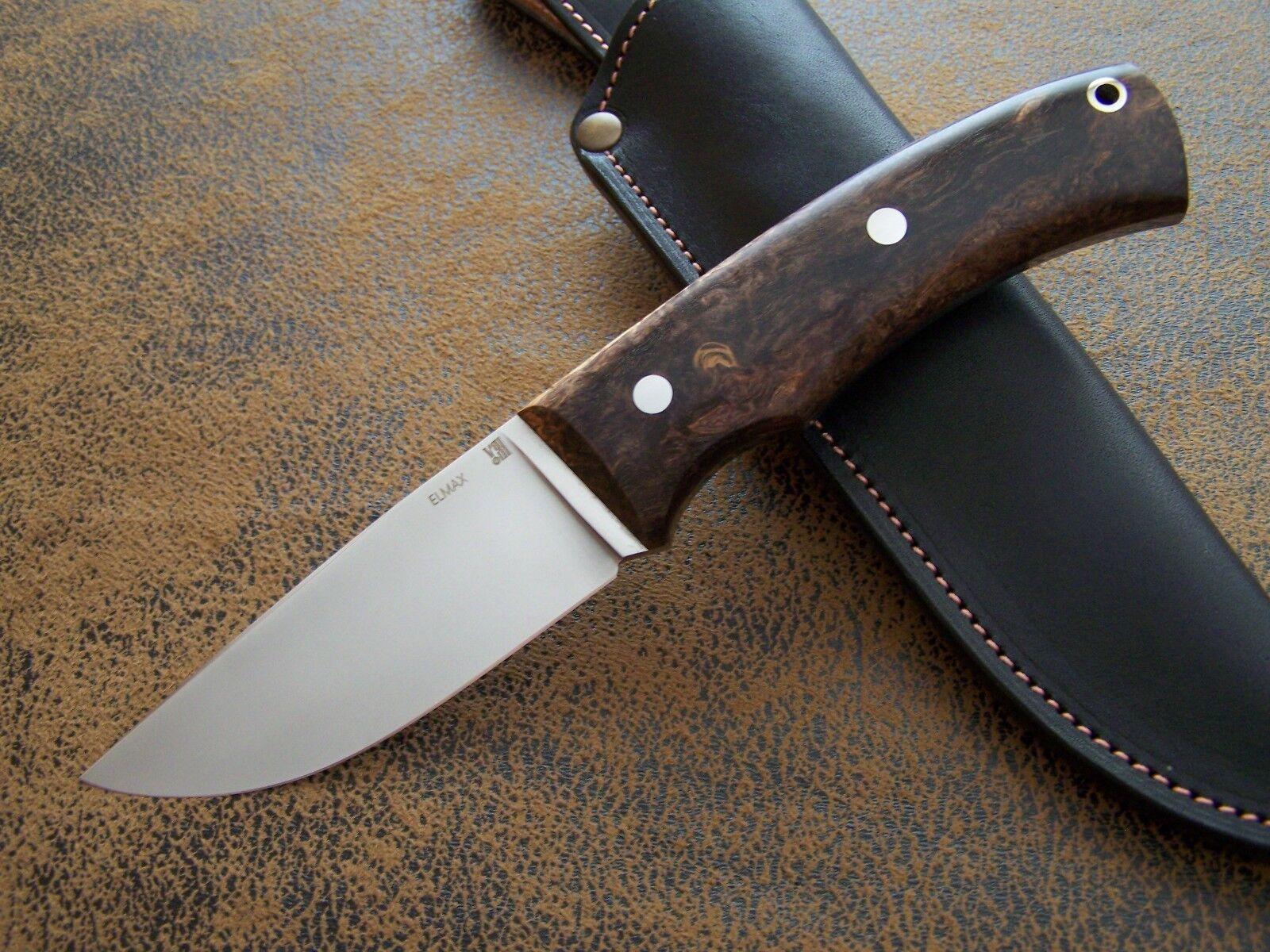 D. Uldanov Exklusives Custom Messer Messer Messer Outdoor / Jagdmesser aus Elmax Stahl 61-HRC 8bb8e5