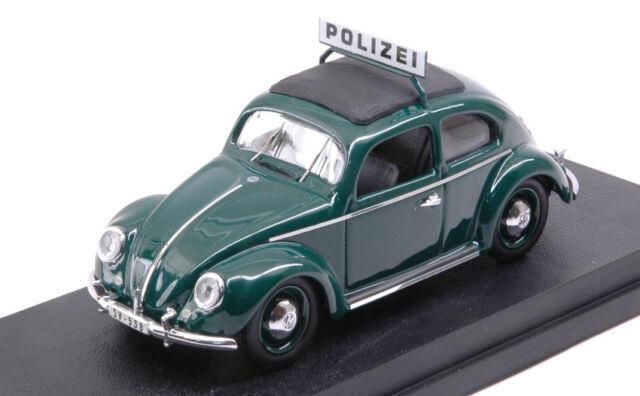 1//87 Brekina VW Maggiolino polizia da Set Bianco