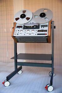 NEW-CUSTOM-MADE-Cart-Stand-for-Revox-A-77-B-77-C-270-PR-99-etc-Reel-Recorders