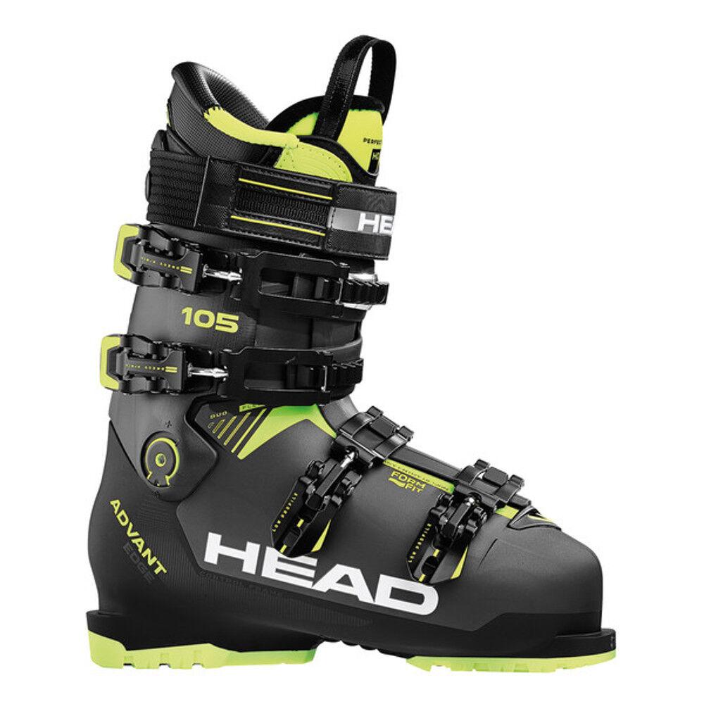 Head Advant Borde 105 botas de Esquí Hombre Perfect Fit Interior Zapato Nuevo