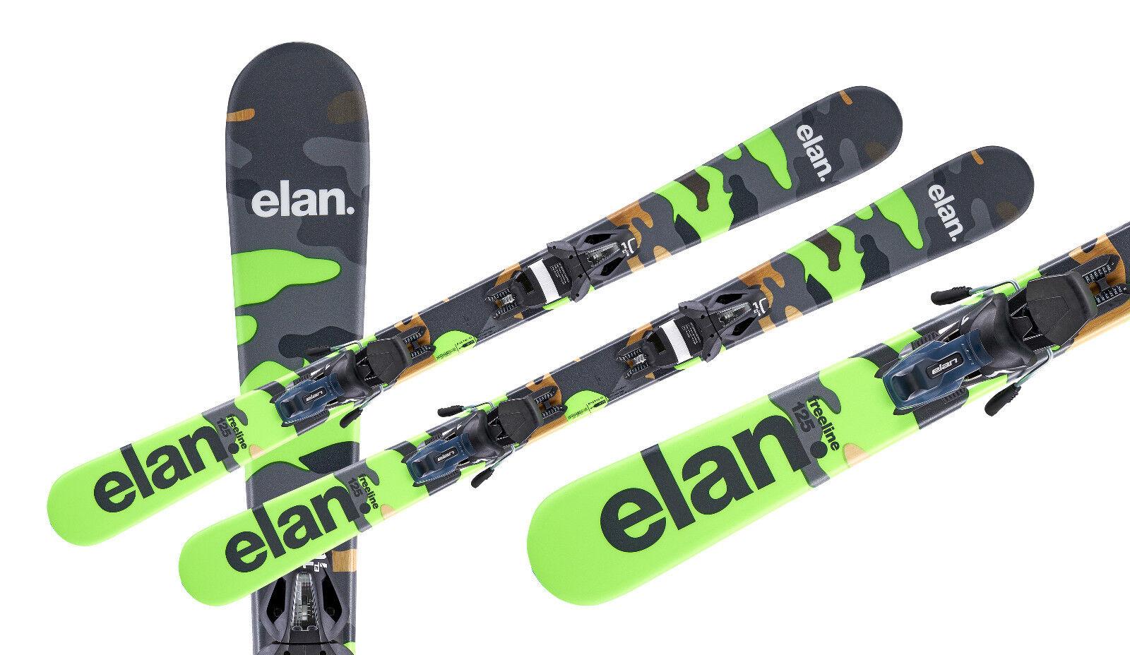Elan Funcarver Freeline Camo 125cm + EL 10 Sicherheitsbindung Saison 2018/2019