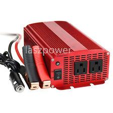 BESTEK Car Power Inverter 1000W 12V DC to 110V AC Charger Power Supply Adapter