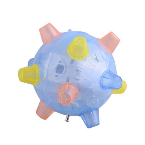 Kid/'s Boy Girl Luminous Flashing Light Up Sound Music Elastic Balls Baby Toys