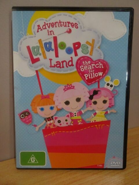 Adventures In Lalaloopsy Land The Search For Pillow  DVD FREE POST AU