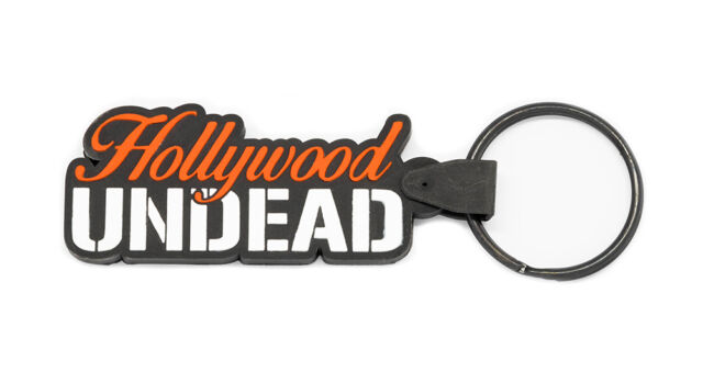 HOLLYWOOD UNDEAD Rubber Keychain Keyring Key Chain Key Ring v2