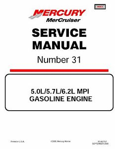 Mercruiser magnum 350 service Manual