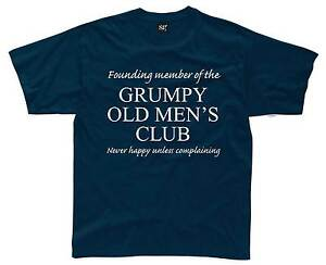 GRUMPY-OLD-MEN-039-S-CLUB-Mens-T-Shirt-S-3XL-Funny-Printed-Joke-Git-Dad-Father-039-s-Day