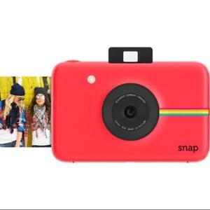 Polaroid-Snap-Instant-Digital-Camera-Red-with-ZINK-Zero-Ink-Technology