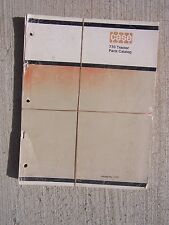 1971 Case 770 Agri King Tractor Parts Catalog Agriculture Farm Machine T