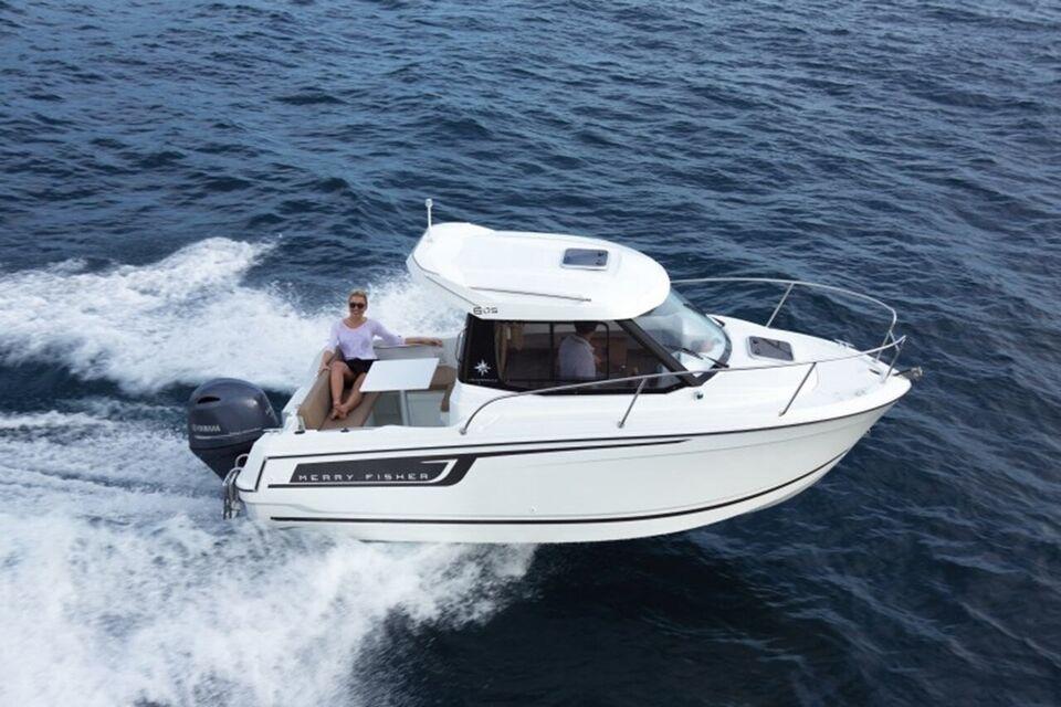 Jeanneau Merry Fisher 605 m/100HK Yamaha og..., Motorbåd,