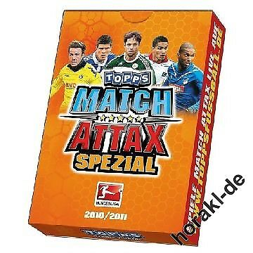 10 especial Pack 2010//2011 liga 10//11 Match coronó Display
