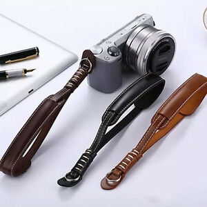 Camera-Strap-Wrist-Hand-Belt-Strap-PU-Leather-Lanyard-for-DSLR-Camera-Sony-Canon