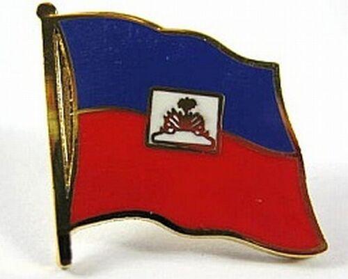 Haiti Flaggen Pin Anstecker,1,5 cm,Neu mit Druckverschluss