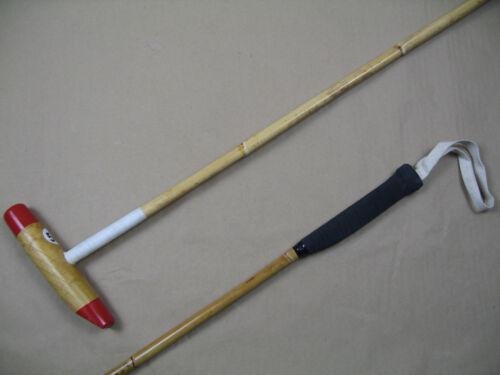 """135 cm lang Poloschläger Polo Mallet aus Bambus Größe 53/"""" ca"""