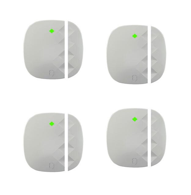 4 x Wireless Door Window Sensor Magnet for Home Security Alarm System 433MHz