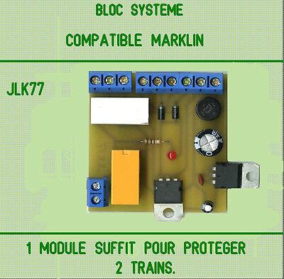 Affidabile Bloc Systeme Recommande Pour Marklin. Profitto Piccolo