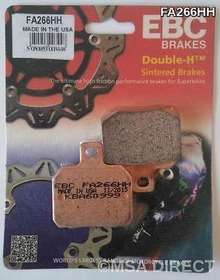 Aprilia RSV1000R Factory 2004-2008 EBC Sintered HH Rear Brake Pads FA266HH Fits