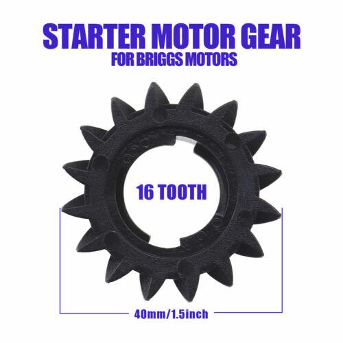 5Pcs 16 Zähne Starter Ritzel Anlasserritzel Kompatibel mit Briggs /& Stratton