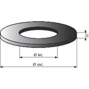 Joints rondelles modèles standards de chasse wc