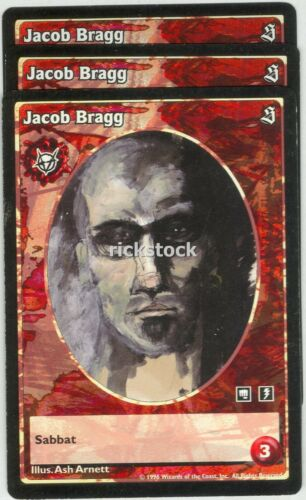 Jacob Bragg x3 Brujah antitribu SE VTES Jyhad