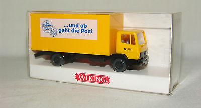 MB 814 Koffer-LKW von Buchbinder in OVP Wiking//Ap,X//N 25-26