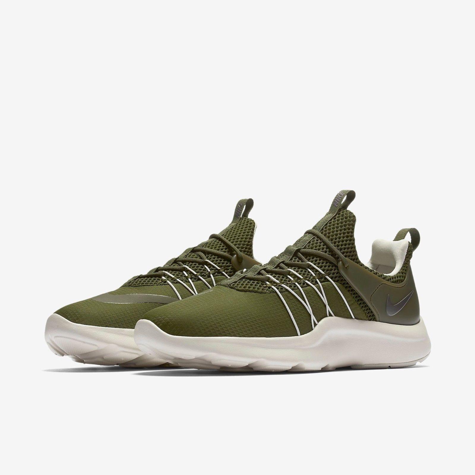 Nike Darwin Running Training Chaussures Vert Olive Vert Chaussures 819959-3017.5  b6212e 792a3917443b