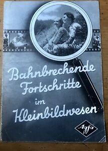 Vintage-1930s-Agfa-Karat-Germany-Klein-Camera-Advertising-Catalogue-Photography