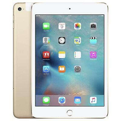 Apple iPad mini 4 7.9 Inch 128GB WiFi Tablet - Gold