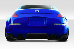 03-08 Fits Nissan 350Z TS-1 Duraflex Rear Bumper Lip Body Kit!!! 112782