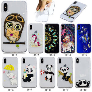 Fashion-Ultra-Slim-Patterned-Cute-Soft-Siliconel-Rubber-TPU-Back-Cover-Case-Lot