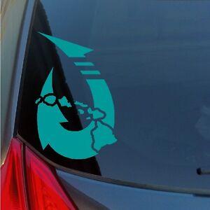 Hawaiian-fish-hook-vinyl-sticker-decal-island-Maui-Hawaii-Lanai-Kona-Oahu-Kauai