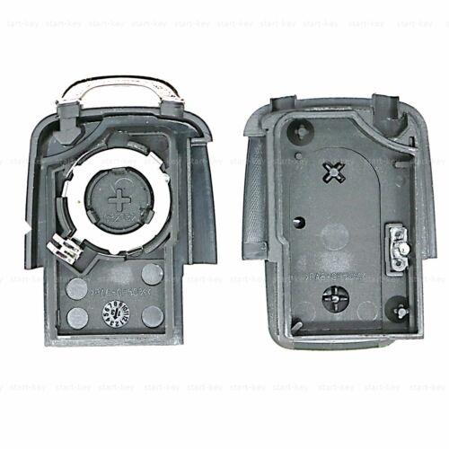 2 teclas auto radio reemplazo clave carcasas para Skoda Fabia Octavia superb 1