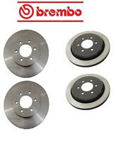 Ford Expedition 3/2-06 Two Front + Two Rear Disc Brake Rotors Kit Brembo on sale