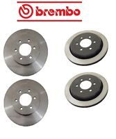 Ford Expedition 3/2-06 Two Front + Two Rear Disc Brake Rotors Kit Brembo