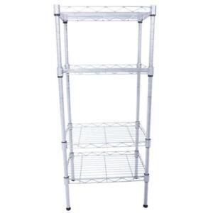 4-Tier-Wire-Shelving-Unit-Adjustable-Metal-Rack-Kitchen-Storage-Organizer-Shelf