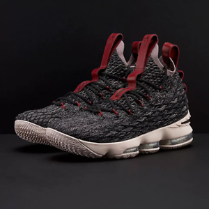 ab0d4cc80fa3 Nike LeBron 15 XV Pride of Ohio Black Grey Size 12.5. 897648-003