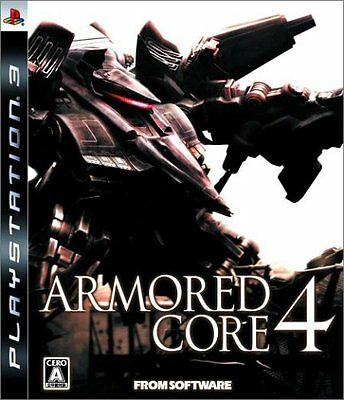 (Used) PS3 Armored Core 4  [Import Japan]((Free Shipping))