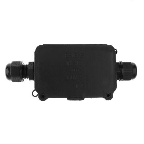 Junction Box Klemmdose Terminal Anschlussgehäuse Wasserdicht IP66 mit 2