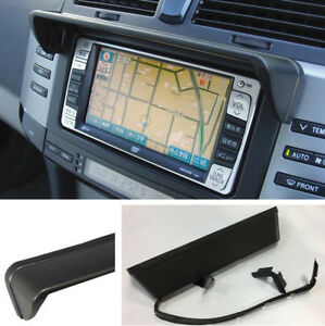 Universal Auto Car SUV GPS Navigation Sun Shade Hood Mask Anti Glare 22*5CM