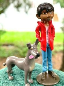 Details About Rare Style Disney Pixar Coco Miguel Rivera Dog Dante Pvc Plastic Toy Figure