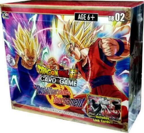 Dragon Ball Super TCG SEALED WORLD MARTIAL ARTS TOURNAMENT Booster Box