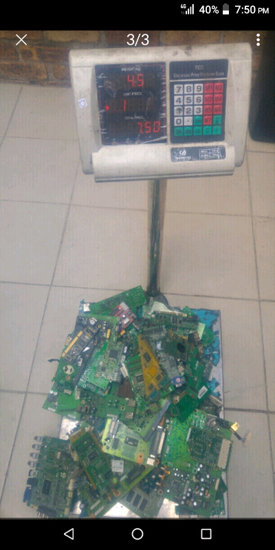 Electronic waste is worth $$$