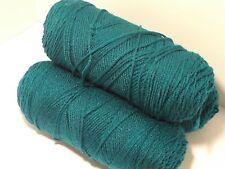 Georgia's Own 100% Mill End Acrylic Yarn - 1 Pound Sheemy Teal Green