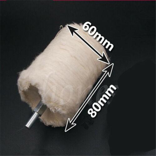 4 Taille cylindrique Rotatif À Tricoter Coton Polissage Polissage Roue poignée Brosse
