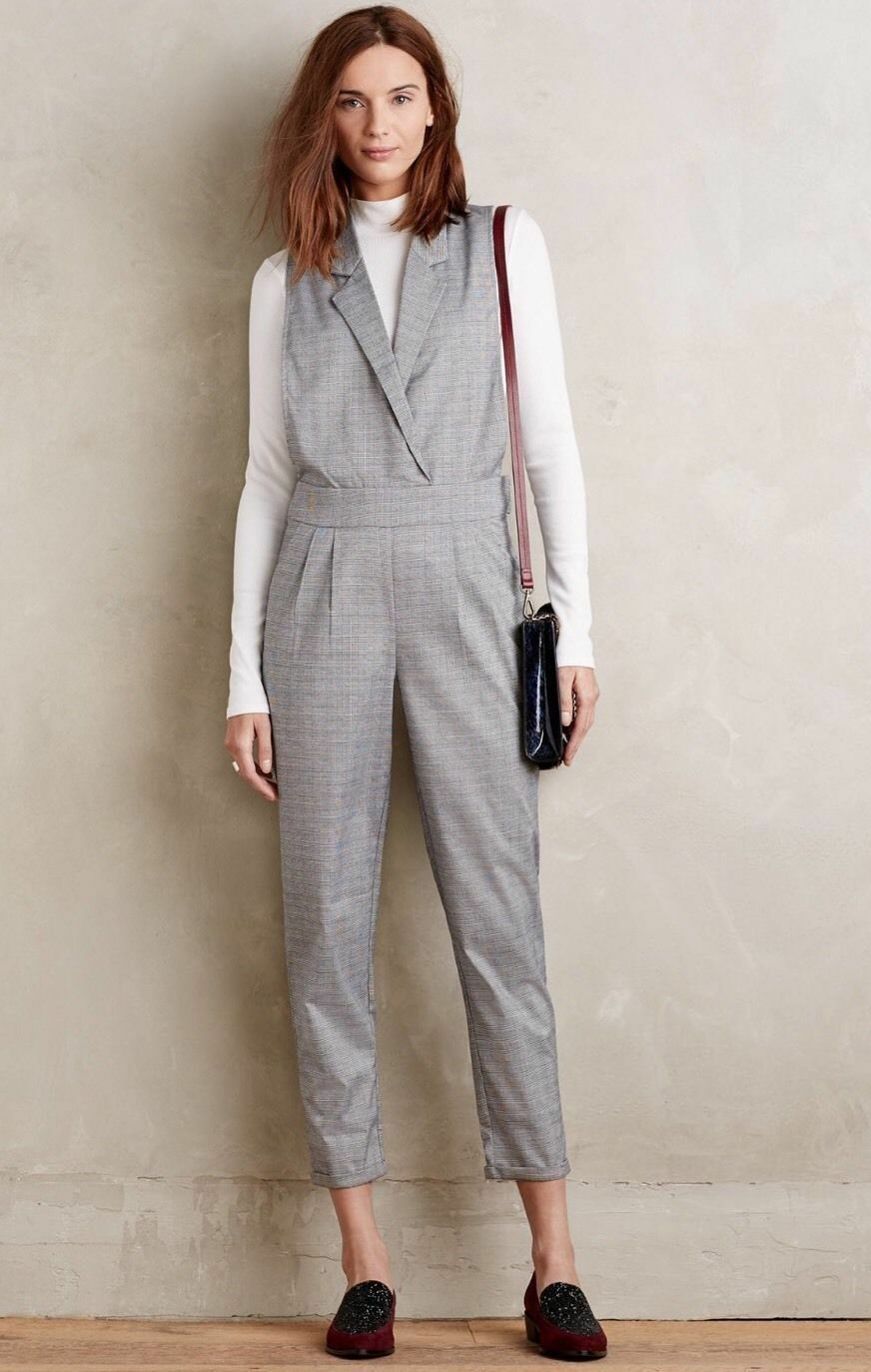 Anthropologie Harlyn Riley Jumpsuit SZ XS