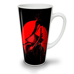 Japanese Warrior NEW White Tea Coffee Latte Mug 12 17 oz   Wellcoda