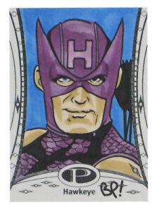2014-Marvel-Premier-Hawkeye-Artist-Sketch-Card-Bill-Pulkovski-UD-Upper-Deck-1-1