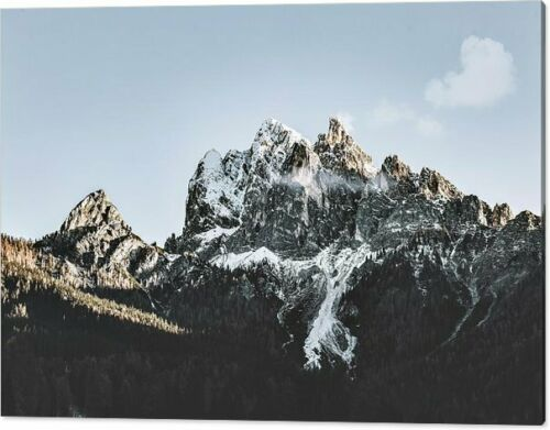 Dolomiten Alpen Berge 152x102 Silber Aluminium PopArt//Bild//Gemälde//Fotografie