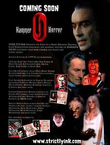 Hammer-Horror-Series-One-Trading-Card-Dealer-Sell-Sheet-Promotional-Sale-2008