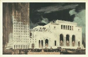 Roxy-Movie-Theatre-Lumitone-1930s-New-York-City-Postcard